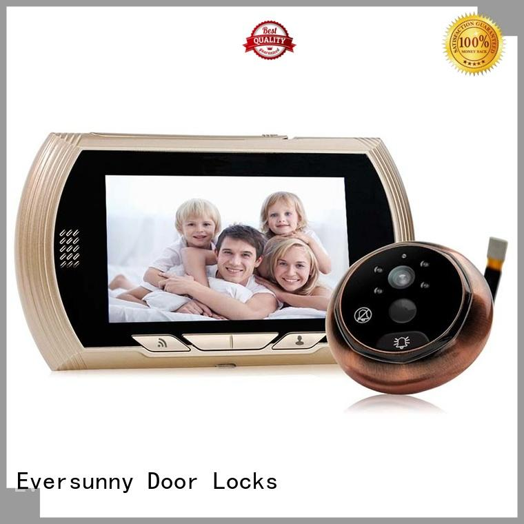 Eversunny electronic door peephole camera wifi compact structure home