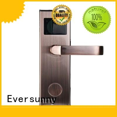 Eversunny fast electronic door locks with card reader international standard for home