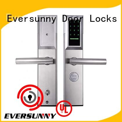 aluminum code locks for external doors keypad for apartment Eversunny