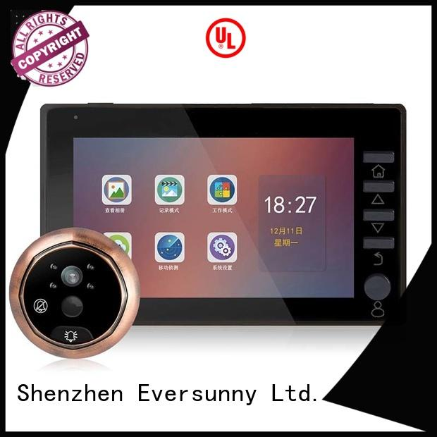 Eversunny professional lcd peephole Large angle for home