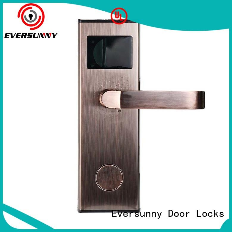 Eversunny convenient rfid card door lock system door for door