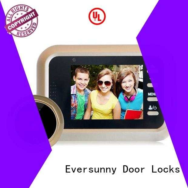 security peephole viewer LCD for home