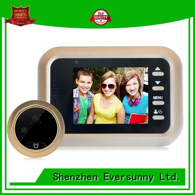 Eversunny electronic best digital peephole with wide angle for sliding door
