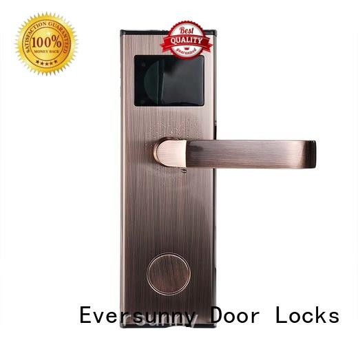 Eversunny safe card entry door locks energy-saving for hotel