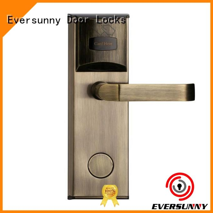 Eversunny fast card door lock energy-saving for apartment