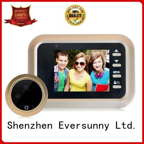 electronic best digital peephole door viewer Intelligent Broken bridge