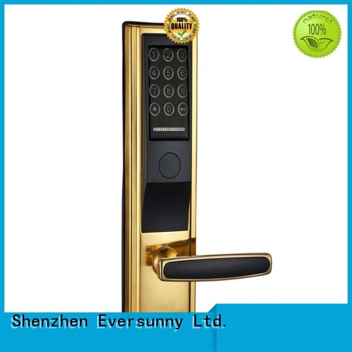Eversunny security locks for doors with code energy-saving for apartment