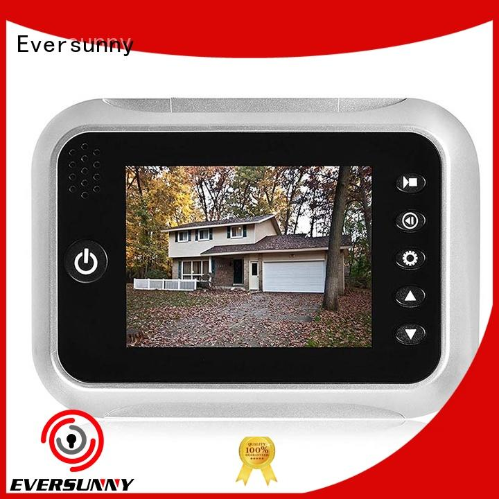 Eversunny digital door peephole power-saving for sliding door