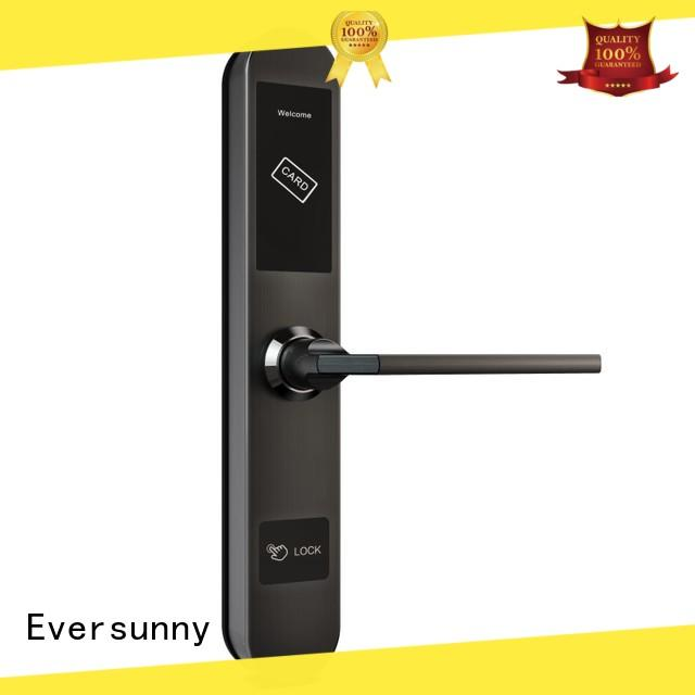 Eversunny electronic door locks with card reader with central management control system for apartment