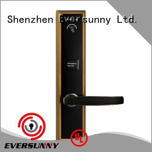 reliable magnetic key card hotel smart locks for hotel Eversunny