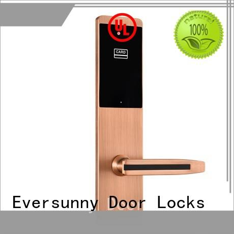 Eversunny safe card lock system stainless steel for door