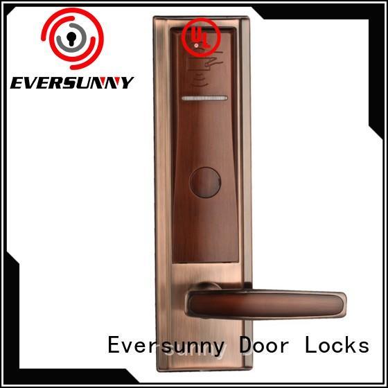 convenient hotel door key card system international standard for door Eversunny