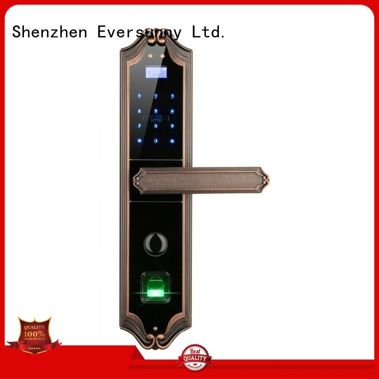Eversunny app biometric fingerprint door lock front door for apartment