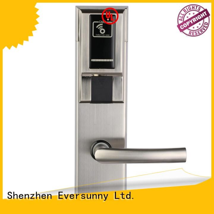 Eversunny card card reader door lock system energy-saving for apartment