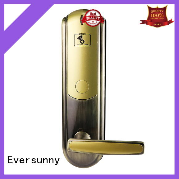 Eversunny convenient rfid card lock hotel smart locks for apartment