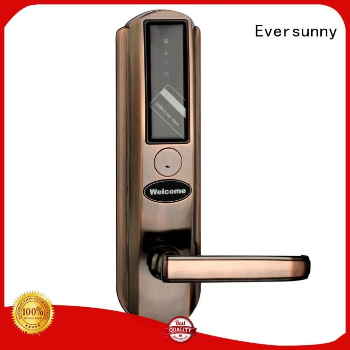 Eversunny smart card door lock international standard for apartment
