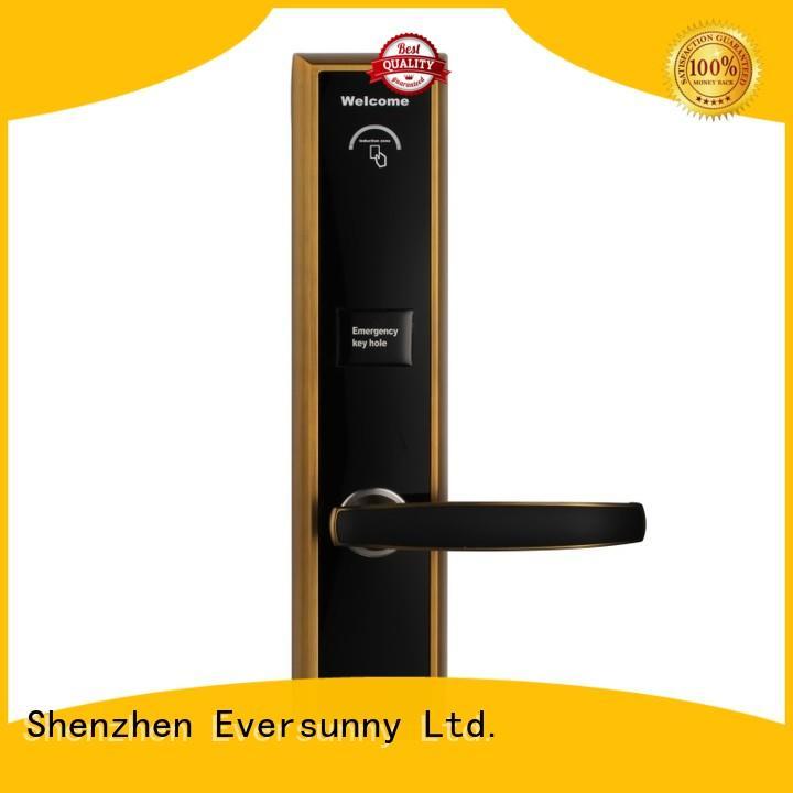 practical card access door lock system hotel smart locks for door