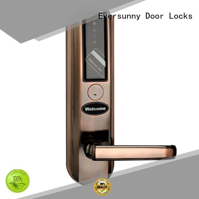 Eversunny smart hotel room key card system international standard for home