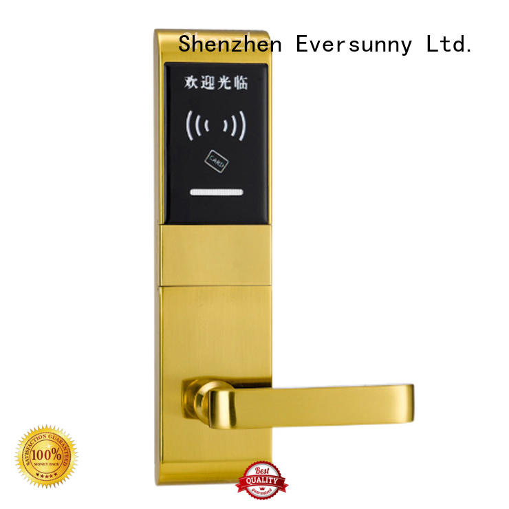 Eversunny smart card access door lock system energy-saving for door