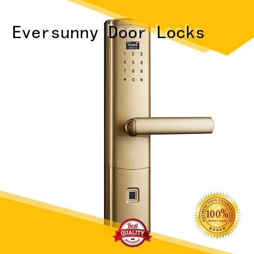 Eversunny electronic keyless door locks smaller for apartment