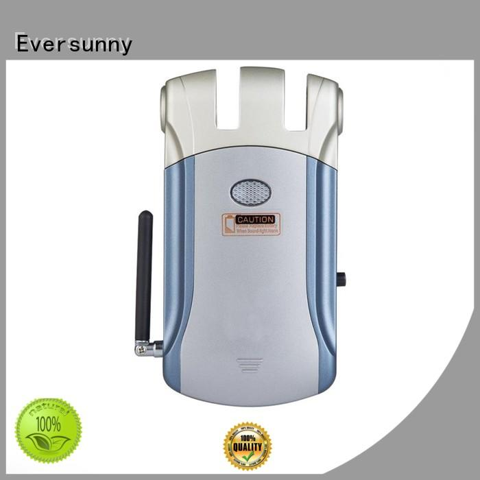 Eversunny electronic door lock with remote control mobile controlled for house