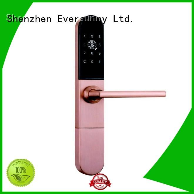 code key code gate lock smart for hotel Eversunny