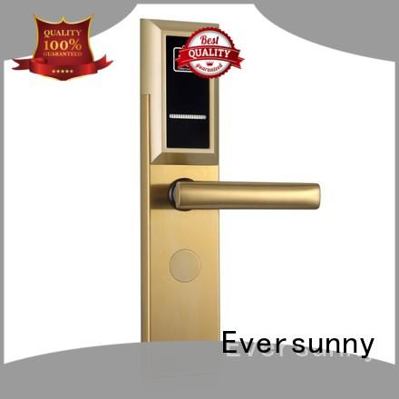 Eversunny fast electronic door locks with card reader with central management control system for home