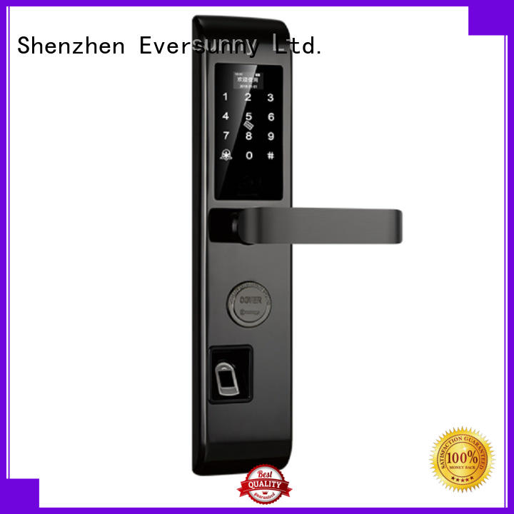 Eversunny input fingerprint lock system touch screen for office