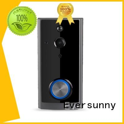 Eversunny convenient best wireless video doorbell with central management control system for door