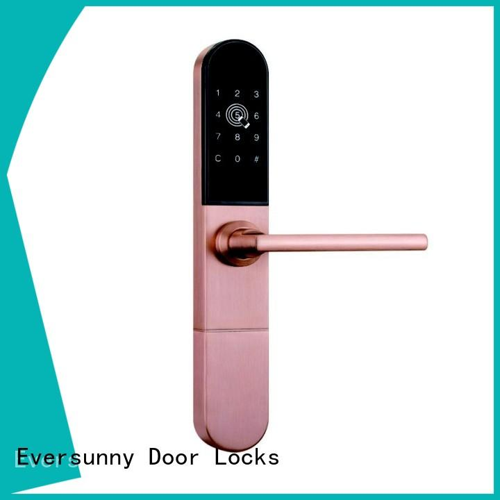 front lock with code touch screen for office