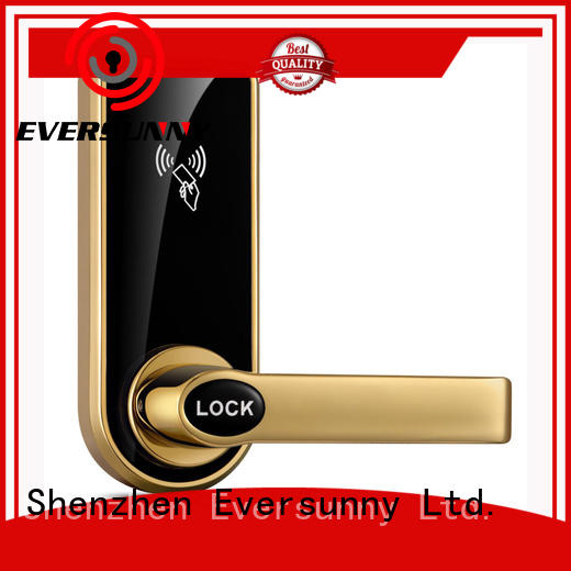 smart electronic door locks with card reader stainless steel for apartment