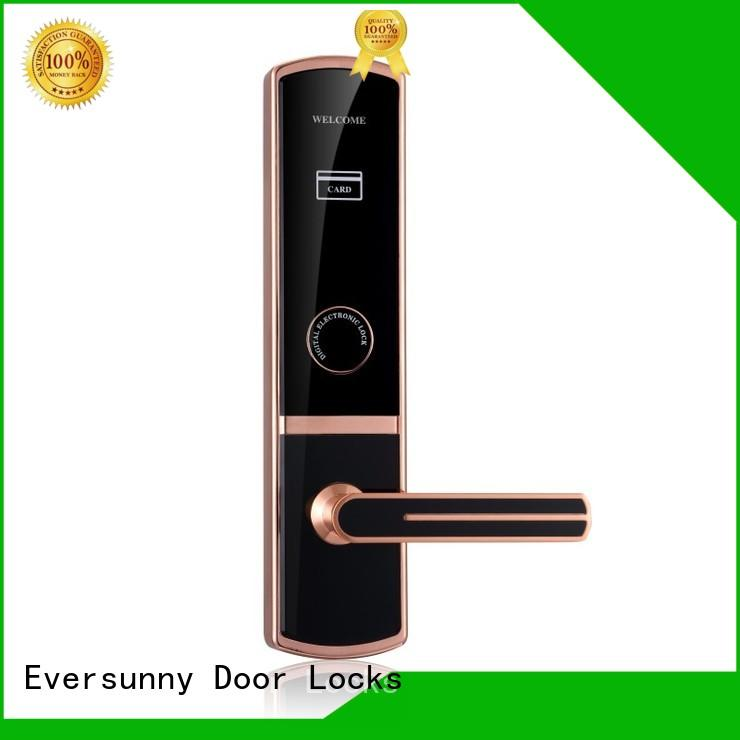 Eversunny card access locks stainless steel for home