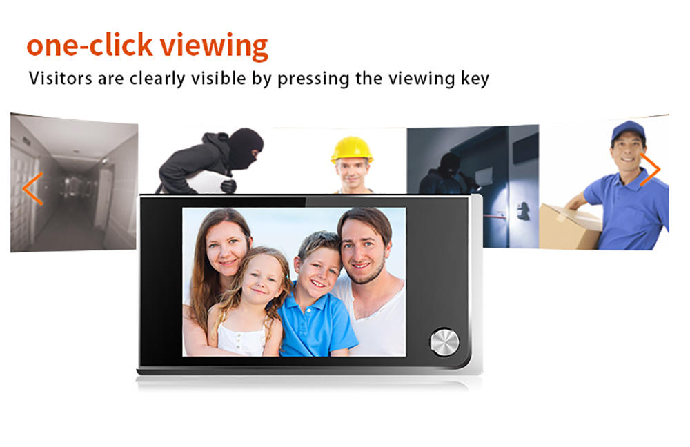 Eversunny security smart door viewer good quality for house