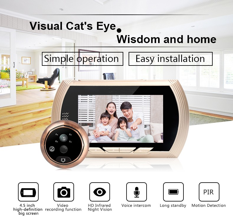 electronic peephole viewer intelligent for home-1