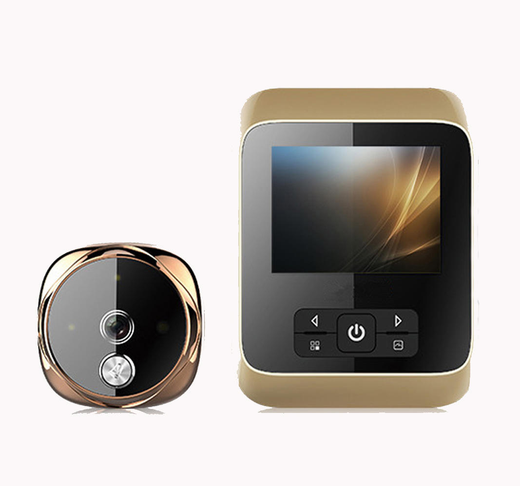 HD Display camera digital peephole with wide angle