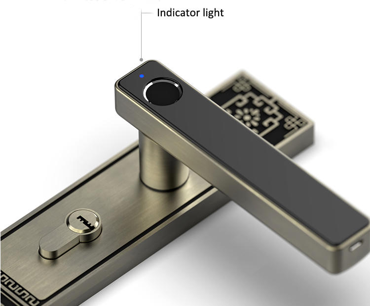 Eversunny new fingerprint lock interior rooms for interior rooms