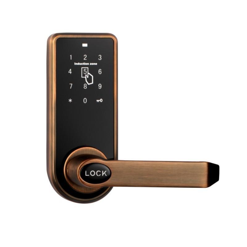 Electronic Digital Pin Door Lock  Password RFID Card Tag WiFi App