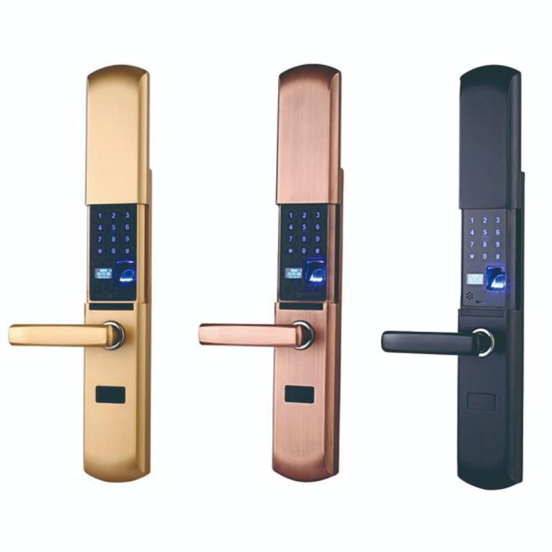 finger scan door lock factory price for cottage