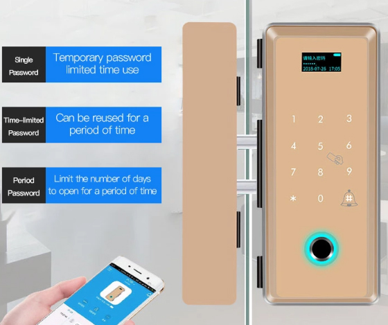 Eversunny lock finger scan door lock for apartment-4