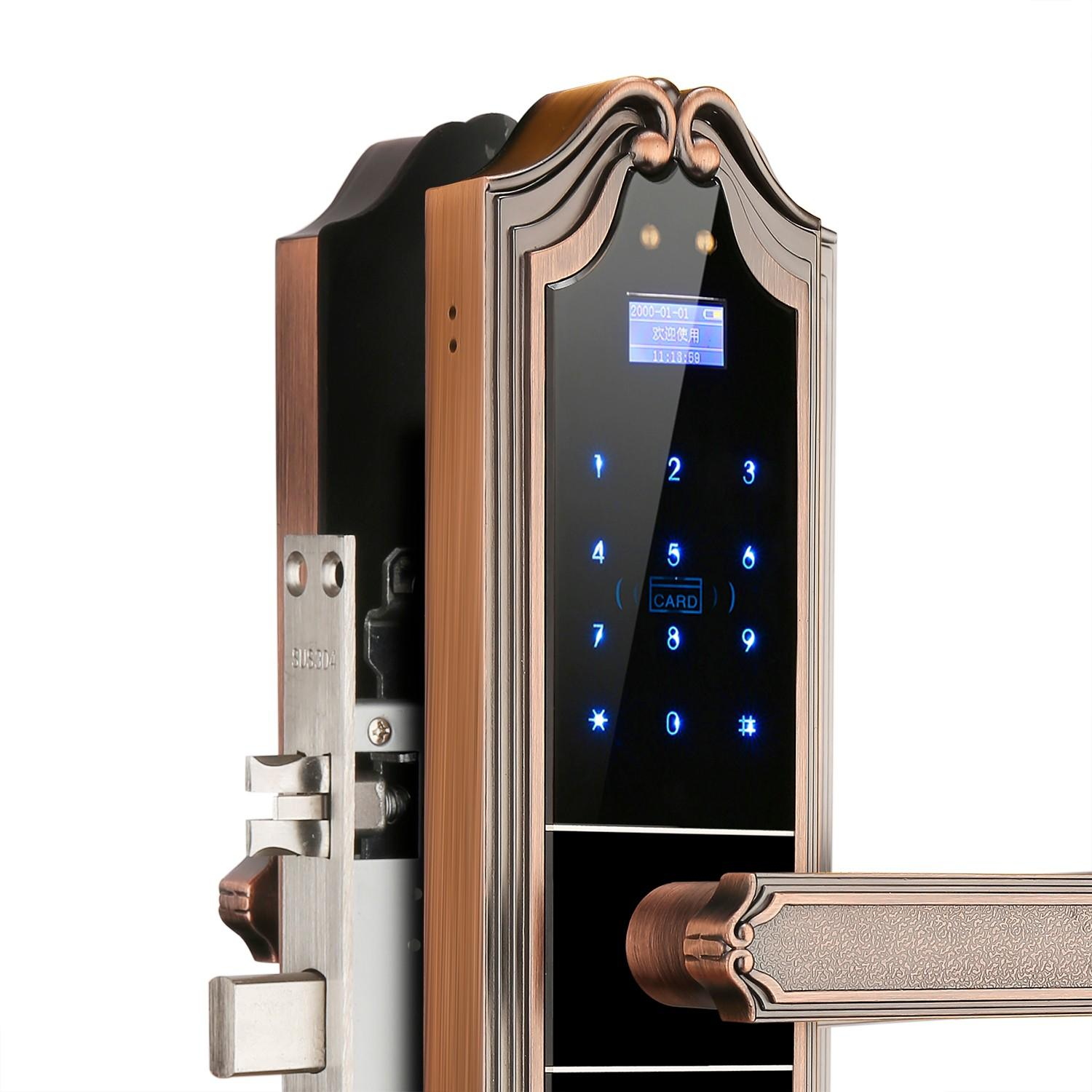 reliable fingerprint door lock price for cottage