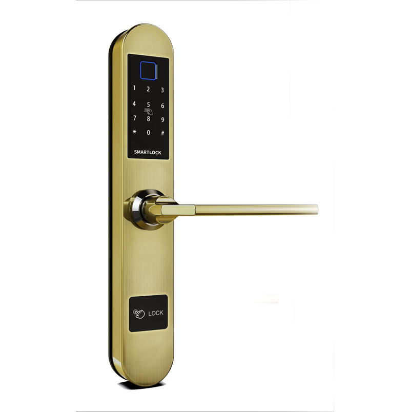 Digital door locks security fingerprint for sliding glass door