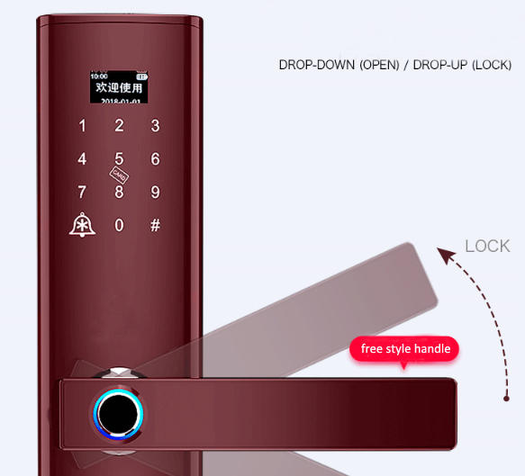 security keyless door lock factory for house