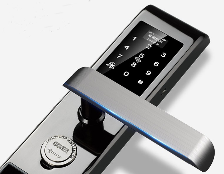 Eversunny input fingerprint lock system touch screen for office-5