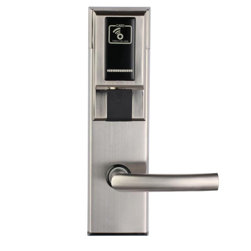 Intelligent hotel door lock with low loss KB218