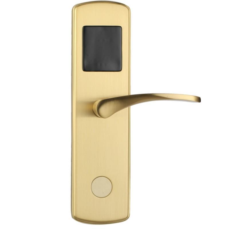 Electronic hotel door lock with card scanning unlock for entrance door  KB601/ KB600