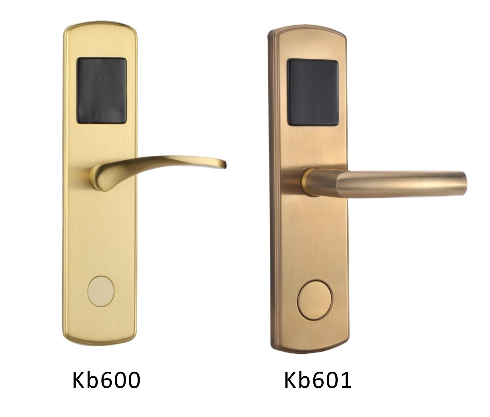 reliable card access door lock stainless steel for home