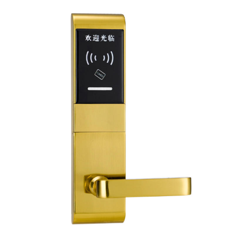 Electronic smart door handle lock with system suitable for Android and iOS KB707