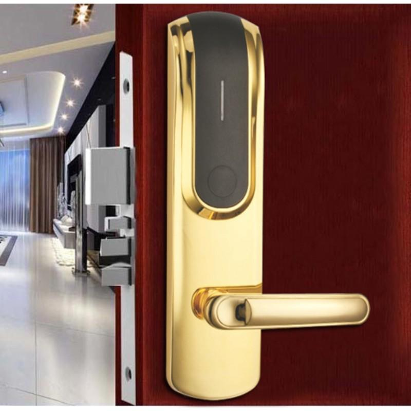 reliable door key card system hotel smart locks for door