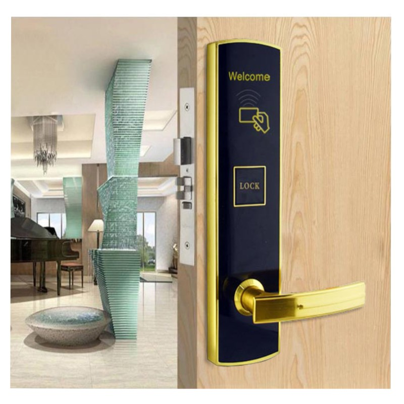Eversunny hotel key card lock with central management control system for home-1