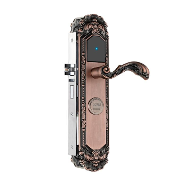 European style hotel door lock intelligent with encoder KB874